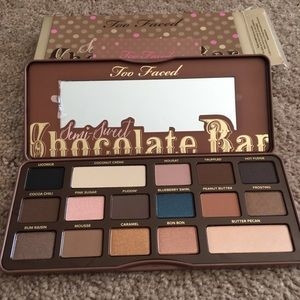 NEW Too Faced Chocolate Bar 14 Eyeshadow palette